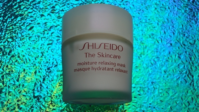 Shiseido+The+Skincare+Moisture+Relaxing+Mask+Review