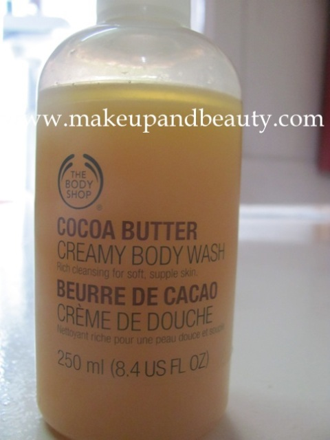 cocoa body wash