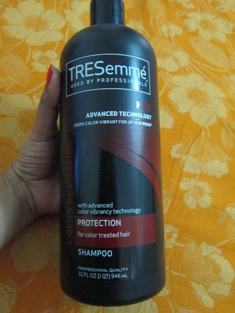 Tresemme+Color+Revitalize+Protection+Shampoo+Review