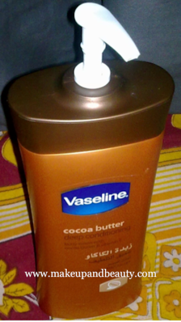 Vaseline-cocoa-butter-Deep-conditioning-body-lotion