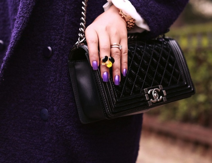 Chanel Boy Bag Purple Patent-chanel-boy-bag