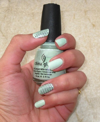 China Glaze Nail Lacquer in Re-Fresh Mint
