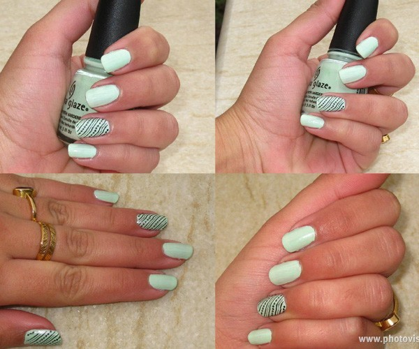 ChinaGlaze Nail Lacquer in Re-Fresh Mint