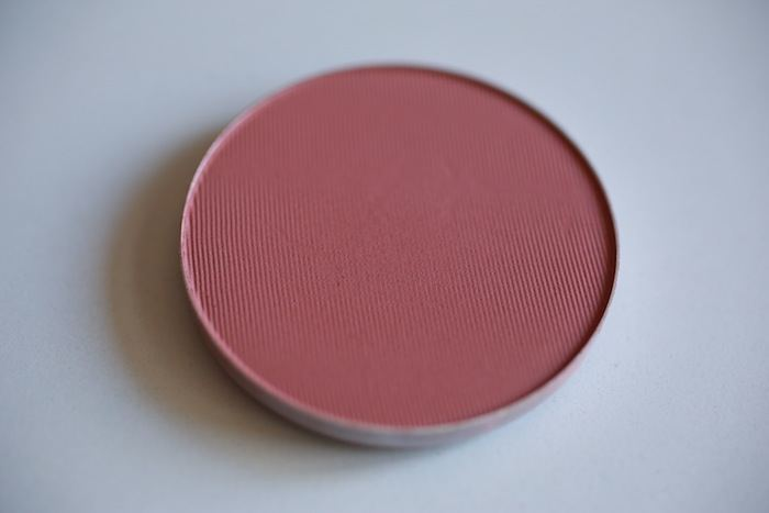 MAC Blush Desert Rose Review, swatch, fotd