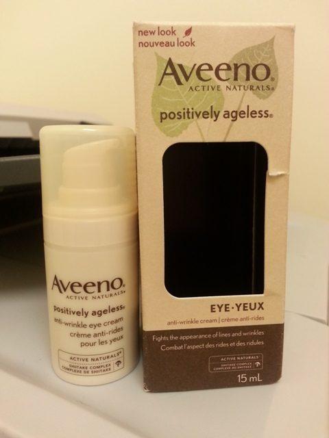 Aveeno anti wrinkle eye cream