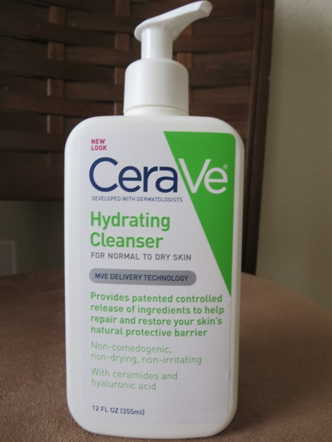 how to use cerave hydrating cleanser