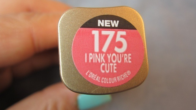 L_Oreal_Color_Riche_lipstick_175_I_Pink_You_re_Cute__2_