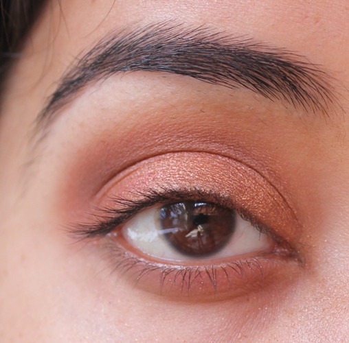 ... on a pencil brush and work on outer third of the lower lash line