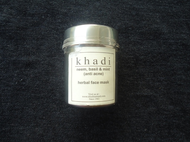 Khadi_Neem_Basil_and_Mint_Face_Pack_Review