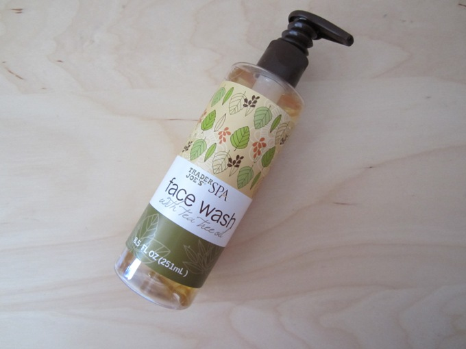 trader s joe spa face wash with tea tree oil review. Black Bedroom Furniture Sets. Home Design Ideas