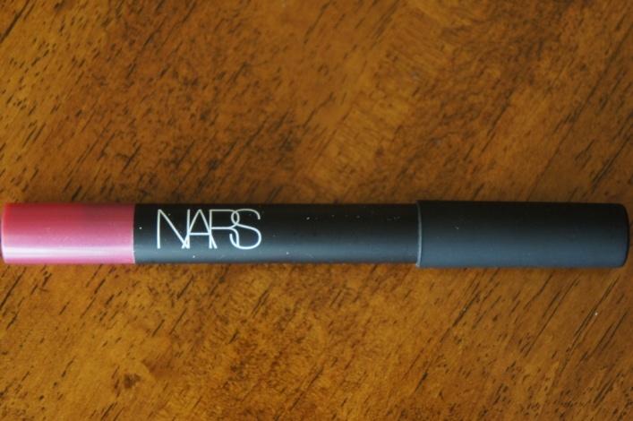 NARS velvet lip pencil never say never