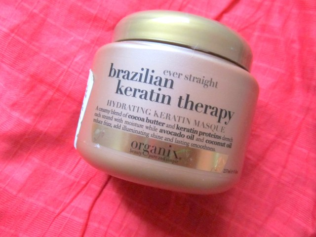 Organix Brazilian Keratin Therapy Hydrating Hair Masque