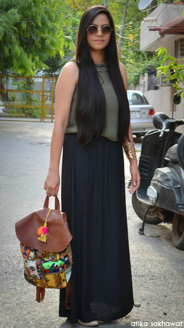 Outfit Of The Day Desi Backpack