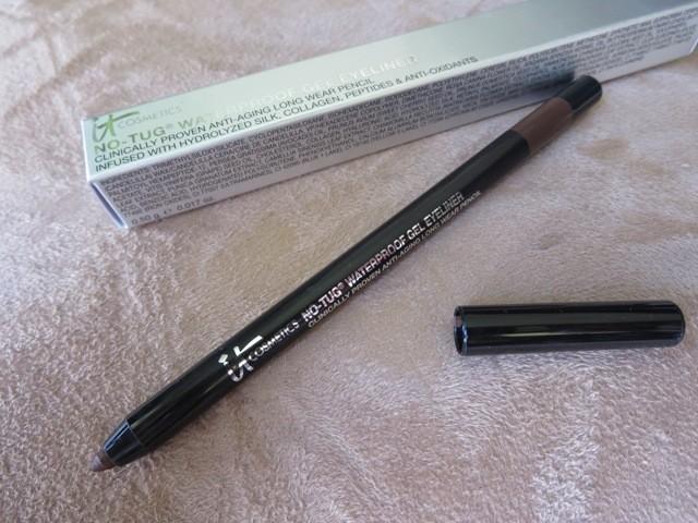 cosmetics waterproof eyeliner brown review eotd