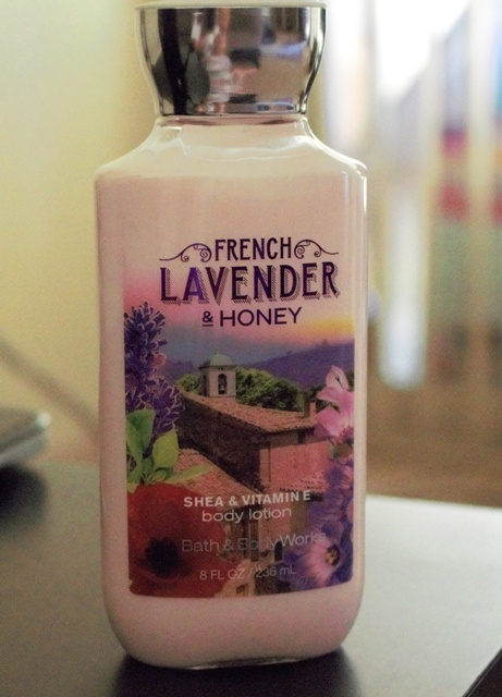 Bath & Body Works French Lavender and Honey Body Lotion Review