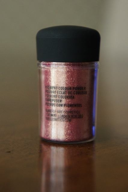 Mac Pigment Rose Review Swatches