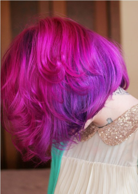 10 Cool And Funky Hair Colors To Try Out