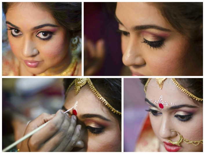 Bridal Face Makeup Step By Step With Pictures : Bridal Eye Makeup in 10 Easy Steps