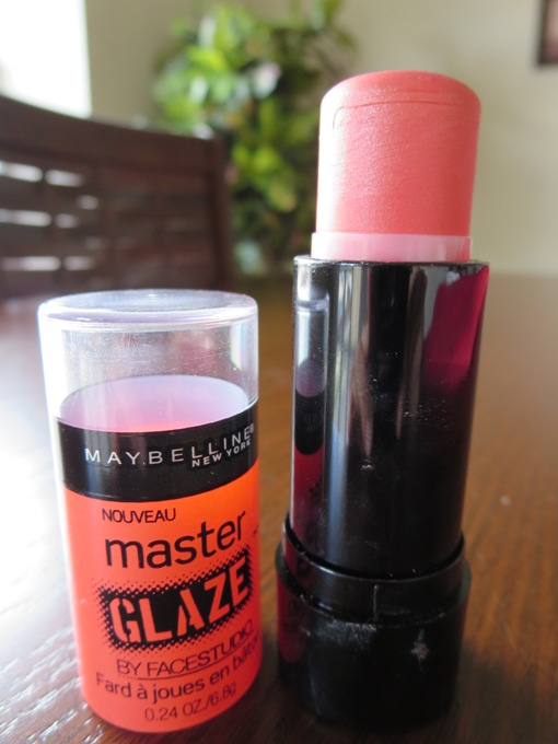Maybelline New Master Glaze Blush Stick Coral Sheen Review