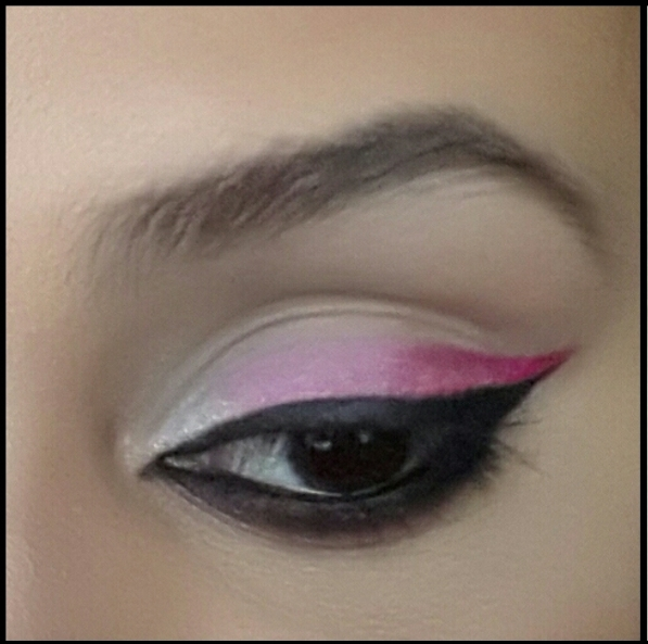pink ombre eyeliner makeup  u2013 breast cancer awareness month