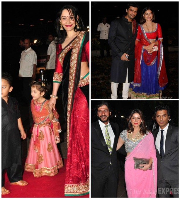 Celebrities At Arpita Khan S Marriage Events Pictures to pin on ...
