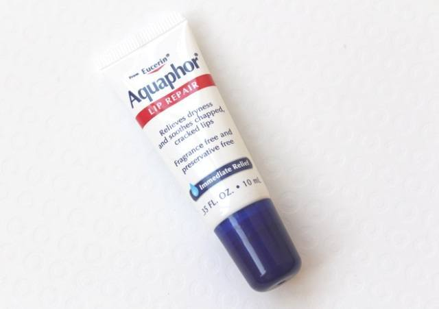 Eucerin aquaphor lip repair