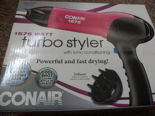 With+The+Conair+1875+Watt+Turbo+Styler+With+Ionic+Conditioning+You+Can+Dry,+Straighten+And+Curl+Your+Hair!