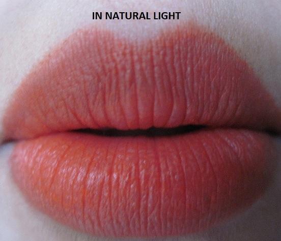 Lakme Absolute Matte Sunset Orange Lipstick Review
