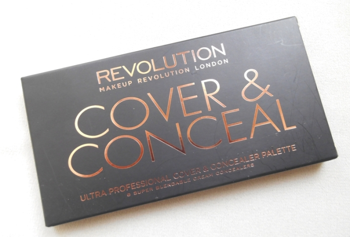 Makeup Revolution Cover and Conceal Palette