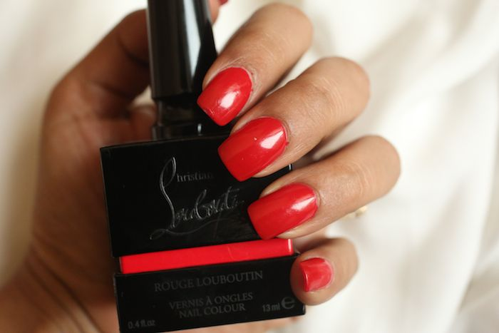 Christian Louboutin Rouge Louboutin Nail Colour Is A Stunning Collector S Item