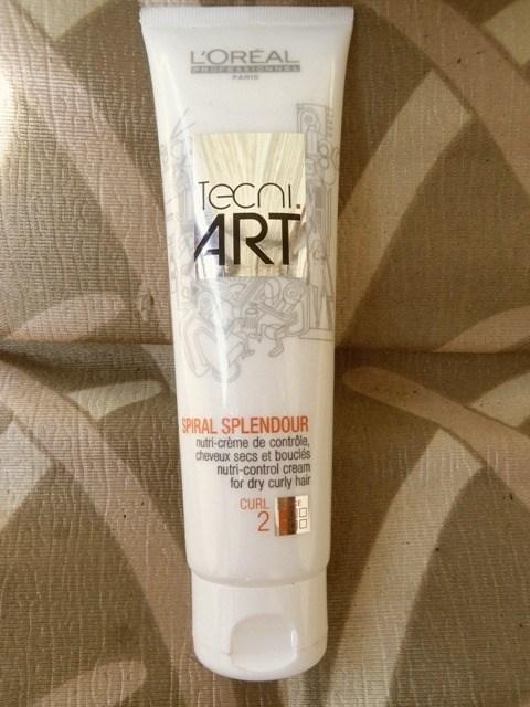 L Oreal Professionnel Tecni Art Spiral Splendour Nutri Control Cream Review