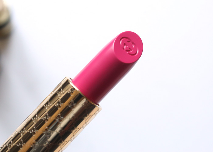 gucci luxurious lipstick swatches
