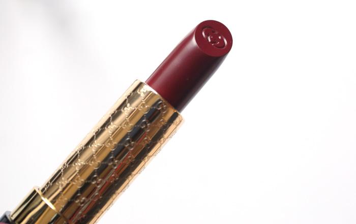 gucci luxurious lipstick purpurite 490