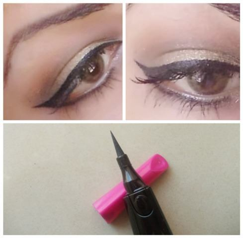 lotus herbals colorkick curved liner look
