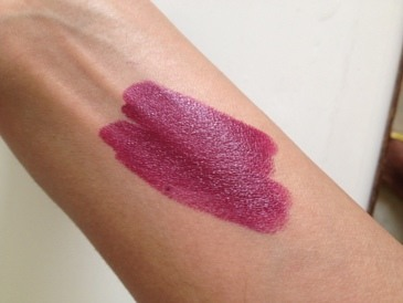 Nyx Wine And Dine High Voltage Lipstick Review