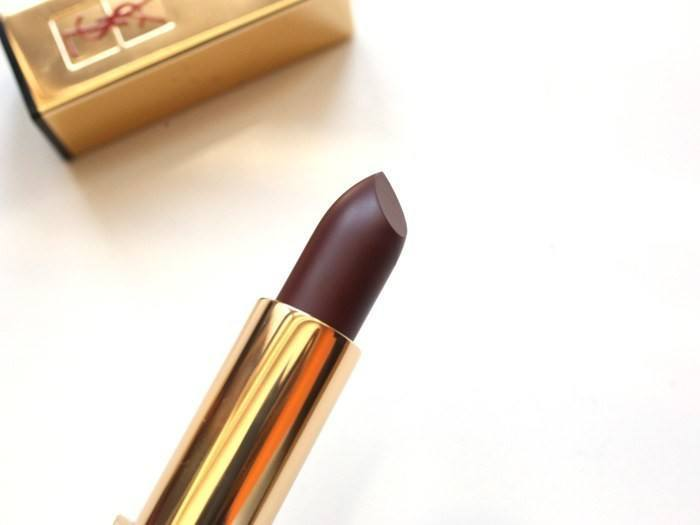 Ysl Rouge Pur Couture The Mats 205 Prune Virgin Review Swatch
