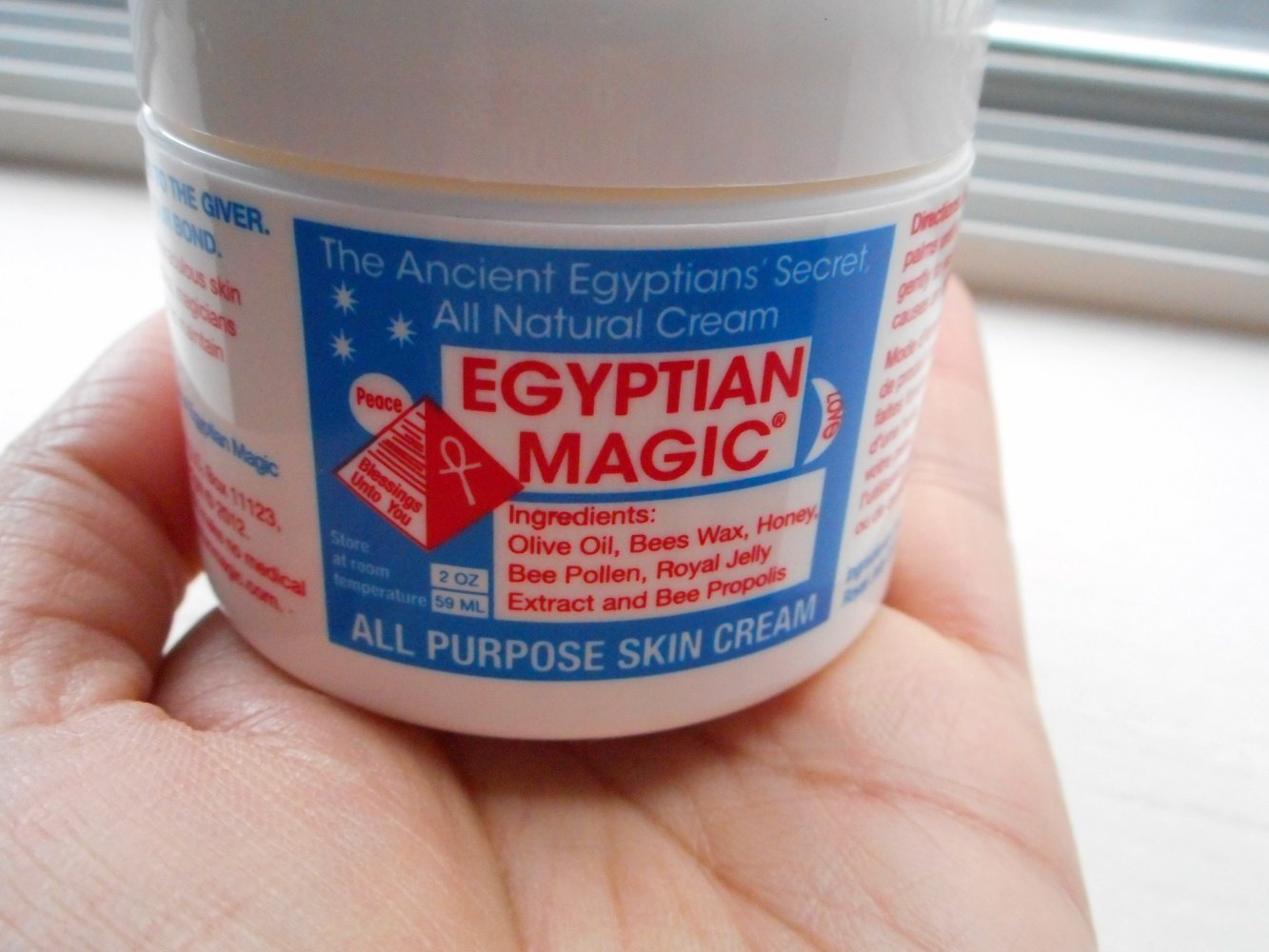 how to use egyptian magic cream