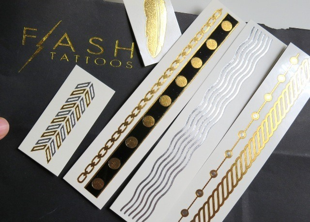 flash tattoos jewelry inspired temporary tattoos review