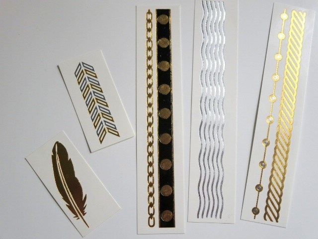 Flash Tattoos Jewelry Inspired Temporary Tattoos3