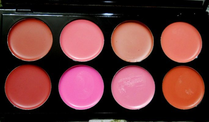 Makeup Revolution London All About Cream Blush Palette Review