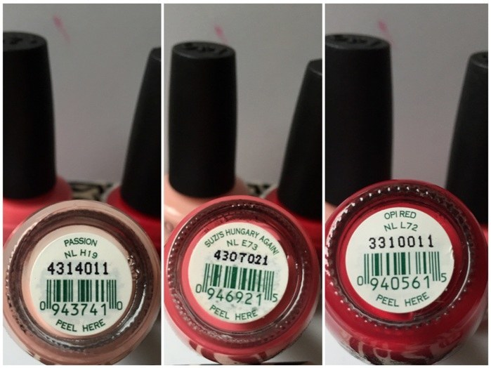 OPI Nail Lacquer in Passion, Suzi's Hungary Again!, OPI Red Review1