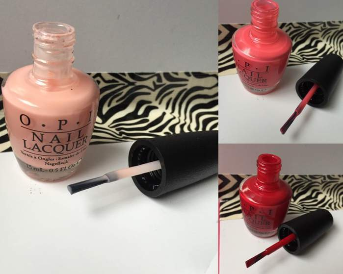 OPI Nail Lacquer in Passion, Suzi's Hungary Again!, OPI Red Review2