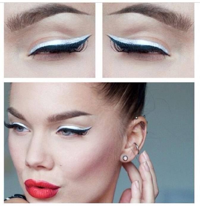 how to use white eyeliner to make your eyes bigger