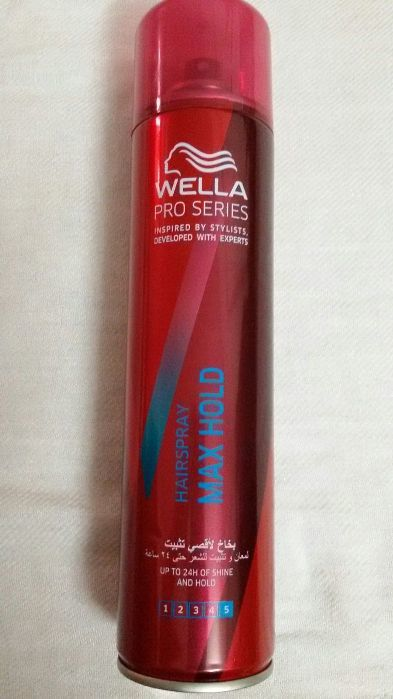 Wella Pro Series Max Hold Hairspray Review1