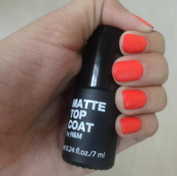 h And m Matte Top Coat Review4