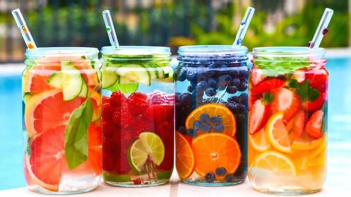 you will know them by their fruit fruit infused water