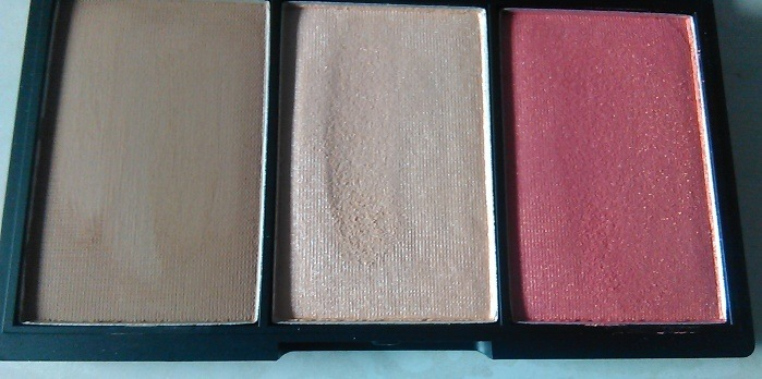 Sleek Makeup Face Form Contouring And Blush Palette In