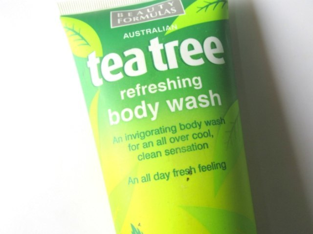 Beauty Formulas Tea Tree Refreshing Body Wash 6