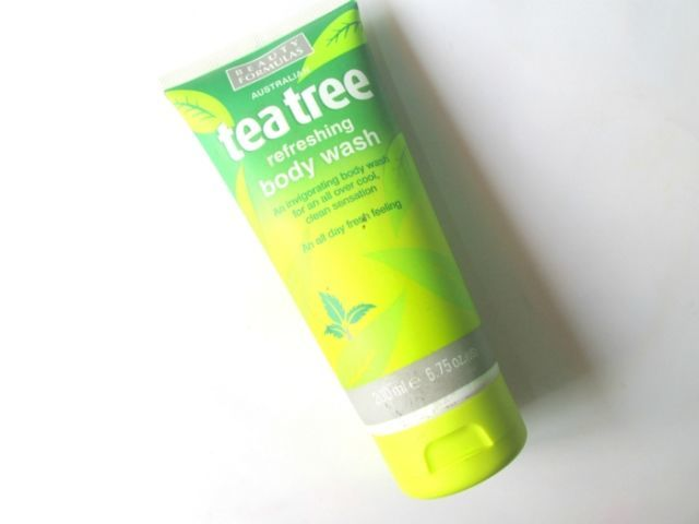 Beauty Formulas Tea Tree Refreshing Body Wash