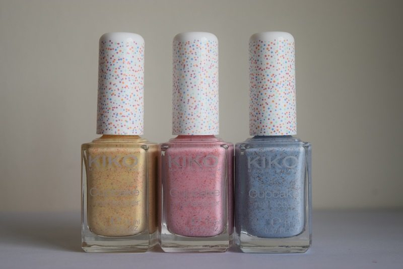 Kiko Cupcake Nail Lacquer in Pineapple, Strawberry and ...